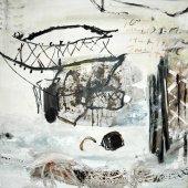 L'œil rivé aux interstices des planches, vers ces cabanes vieilles - Novembre 2006 - 100 x 100 cm