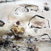 Je sors pour ma récolte de visible et d'invisible - Décembre 2006 - 100 x 100 cm