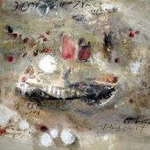 Rires pourpres, îles longuement mûries - Décembre 2006 - 100 x 100 cm