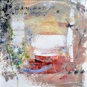 Le frémissement de l'air et les douze voyelles musiciennes (II) - Novembre 2007 - 40 x 40 cm