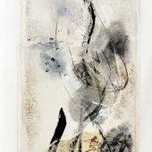 Amour en son vol et vertige (II) - Novembre 2008 - 40 x 120 cm
