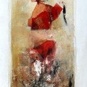 Le frémissement de l'air et les douze voyelles musiciennes (II) - Décembre 2008 - 40 x 120 cm