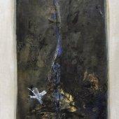 La sève à cœur ouvert gravite d'étoiles en atomes (II) - Décembre 2008 - 40 x 120 cm