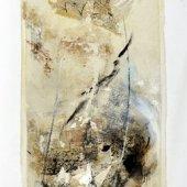 A la façon du pollen que le vent arrache - Décembre 2008 - 40 x 120 cm