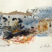 Collage sur papier - Juillet 2012 - 40 x 25 cm