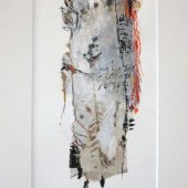 Collage sur papier - Juillet 2012 - 25 x 40 cm