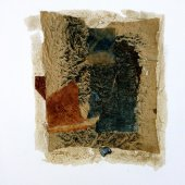 Collage sur papier kraft - Septembre 2012 - 21x 27 cm