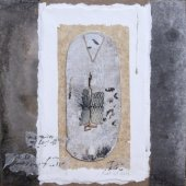 Collage sur bois - Octobre 2013 - 27 x 27 cm