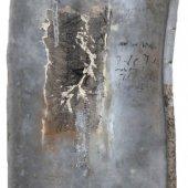 Technique mixte sur zinc - Novembre 2013 - 30 x 49 cm - Verso-01