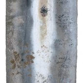 Technique mixte sur zinc - Novembre 2013 - 30 x 49 cm - Verso-02
