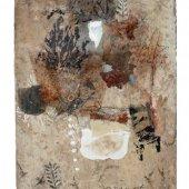 Technique mixte sur carreau de terre cuite - Décembre 2013 - 23,5 x 30,5 cm