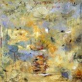 Sur les margelles prodigues des étés - Août 2004 - 50 x 50 cm