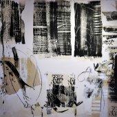 Technique mixte sur toile - Avril 2009 - 150 x 150 cm